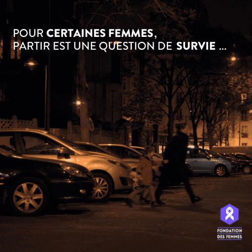 Pour certaines femmes, partir est une question de survie...